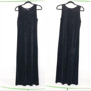 Eileen  Fisher Maxi Velvet Dress